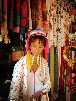 Kayan long neck tribes